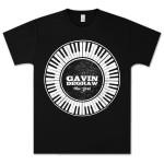 Gavin DeGraw - Circular Keyboard T-Shirt