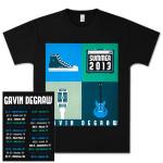 Gavin DeGraw - Summer 2013 Tour Black Tee