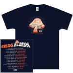 Gregg Allman 2008/09 Winter Tour Shirt