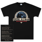 Gregg Allman Black Midnight Rider Tee