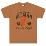 Gregg Allman Cinnamon Women's I'm No Angel Tee