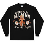 Gregg Allman Women's Long-sleeved I'm No Angel Tee