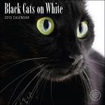 Black Cats on White 2015 Wall Calendar