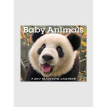 Baby Animals 2017 <br/> 5.25&quot; x 6.125&quot; Page Per Day Calendar