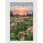 Be Calm Be Still 2017 <br/> 12&quot; x 20&quot; Big Picture Calendar