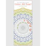 Color All Year! 2017 <br/> 9&quot; x 22&quot; Vertical Calendar