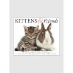Kittens &amp; Friends 2017 <br/> 5.25&quot; x 6.125&quot; Page Per Day Calendar