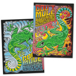 Gov't Mule 2013 Fonda Theatre, Los Angeles, CA and Fox Theatre, Oakland, CA Event Posters Bundle
