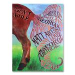 Gov't Mule 2002 Atlanta Tabernacle Event Poster