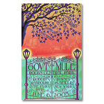 Gov't Mule 2003 Central Park New York City Event Poster