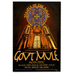 Gov't Mule 2008 New Year's Run Acoustic Event Poster