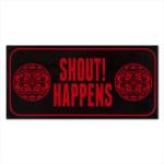 Shout Happens! Sticker