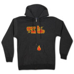 Gov't Mule Charcoal Zip-Up Hoodie