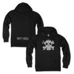 Mule & Crossbones Black Pullover Sweatshirt