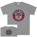 Gov't Mule 2012 New Year's Run Phily Liberty Bell Logo T-Shirt