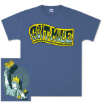 Gov't Mule New Years Eve 2012-2013 Queen of Liberty Logo T-shirt
