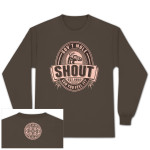 Gov't Mule Brown Shout! Long-Sleeve T-Shirt