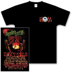 Gov't Mule 2004 New Year's Run Voodoo Lounge T-Shirt