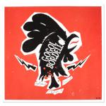 Higher Ground Chicken Head Square Poster