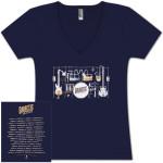 2014 Ladies Tour V-Neck T-Shirt