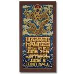 Warren Haynes 2004 Bowery Ballroom New York City Event Poster