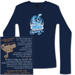 Warren Haynes 2008 Xmas Jam Ladies Longsleeve T-Shirt