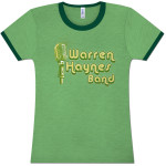 Warren Haynes Band Microphone Logo Ladies T-Shirt