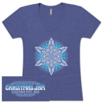 Warren Haynes 2012 Women's Snowflake Shirt