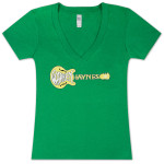 Warren Haynes Green Guitar Women's V-Neck