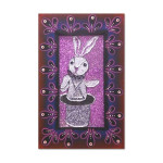 """""""Bunny"""" Painting by Glitter Girl (16 x 23)"""