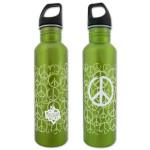 House of Blues Green Peace Water Bottle