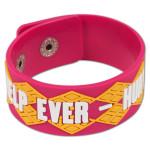 Help Ever - Hurt Never Pink Bracelet