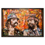 Fillmore - Cheech & Chong 11/22/08-2/28/09 Poster