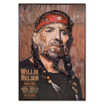 Fillmore - Willie Nelson 2/19-22/02 Poster