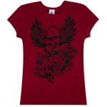 HOB Red Skull Wings T-Shirt