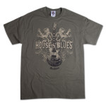 House of Blues Lions Guitar T-Shirt