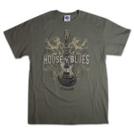 Lions Guitar T-Shirt - Cleveland