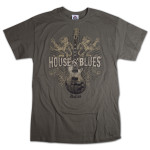 Lions Guitar T-Shirt - Dallas