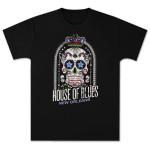 HOB Skull Men's T-Shirt - New Orleans
