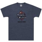 Navy Heart Logo T-shirt - Sunset Strip