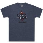 Navy Heart Logo T-shirt - Myrtle Beach