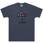Navy Heart Logo T-shirt - San Diego