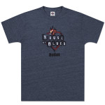 Navy Heart Logo T-shirt - Dallas