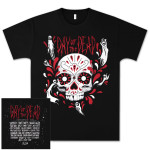 Skull T-Shirt with Bands