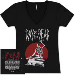 Coffin Ladies V-Neck with Bands
