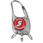 Hendrick MotorSports #5 3 Ring Clip Key Chain