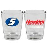 Hendrick Motorsports #5 2oz Shot Glass