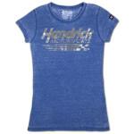 Hendrick Motorsports Ladies Burnout Scoop T-shirt
