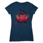Foil Dancer/Logo Navy Women's T-shirt