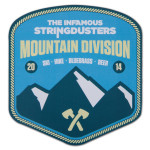 The Stringdusters - Duster Mountain Division Sticker